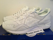 ASICS GEL LYTE V 5 TRIPLE WHITE LEATHER US 11.5 UK 10.5 45 PALE MINT SPECKLE