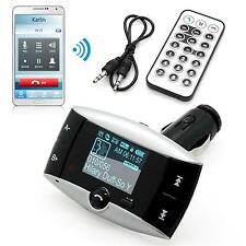 REPRODUCTOR MP3 Transmisor FM Radio Para Coche Mechero Manos Libre SD/MMC/USB