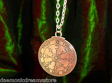 PENTACLE OF THE SUN TALISMAN CONSECRATED FOR FAME & SUCCESS Occult Magic Magick