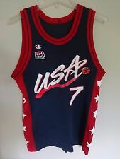 Vintage Champion Carl Malone # 11 USA Olympic Dream Team Men S 36 Jersey Error