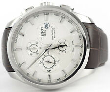 Automatic T0356271603100 Chronograph Tissot Courtier Silver Dial Men's Watch