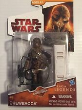 """Star Wars From SAGA LEGENDS CHEWBACCA  SL-15  Action Figure  3.75"""" Tall"""