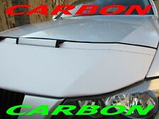 Silber Carbon Optik BRA Fiat 500 Bj. ab 2007 Steinschlagschutz Haubenbra Tuning