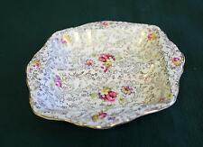 James Kent Pearl Delight Divided Relish Dish Vintage Chintz