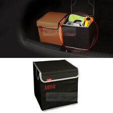 Folding Black Mini Car Trunk Soft Storage Organizer Collapsible for All Vehicle