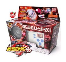 Takaratomy Beyblades #BBC02 LDrago Destroy Starter Set with Super Control Launch