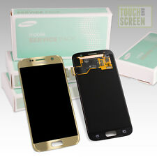 100% Original Samsung Galaxy S7 SM-G930F Display Screen gold