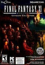 FINAL FANTASY XI ONLINE ULTIMATE COLLECTION WINDOWS PC (2009)