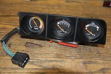VOLVO 240 TURBO TRIPLE PACK GAUGES, BEZEL & WIRING HARNESS 242-244-245 81-85 O E