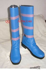 YuGiOh Dark Magician Girl Blue Cosplay Long Boots S008