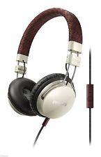 Philips Foldie CitiScape Headphones w/ Mic- Cream Brown