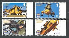 AVIATION, ROYAL AIR FORCE HELICOPTERS ON FALKLAND ISLANDS 2011 MNH
