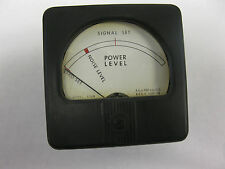 Honeywell 53SN Audio Level Meter Signal Set Noise Level Power Level