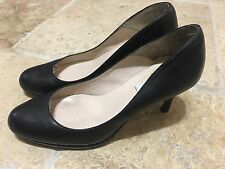 LK Bennett Women's Sybila Black Round-Toe Pump High Heels Size Size 38