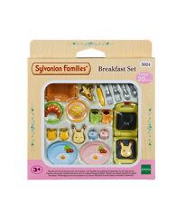 Sylvanian Families Furniture & Accessories 5024 Breakfast Set /Age 3+ Bnib