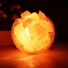 Natural Himalayan Air Purifier Crystal Rock Salt Ball Block for Salt Light Lamp