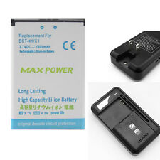 Li-ion Polymer Internal Battery + Charge For Sony Ericsson BST-41 X1 M1i X10 A81