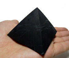 Shungite Schungit Unpolished Pyramid 70mm elite crystal minerals