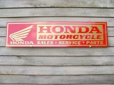 NEW!! HONDA ''GOLDWING''MOTORCYCLE DEALER/SERVICE SIGN/AD PANEL W/GOLDWING LOGO