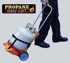 Propane Tank Dolly Fill Level Gauge BBQ Grill hand truck (tank not included)