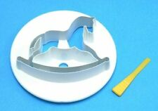 PME Small ROCKING HORSE Plastic Icing Cut Out Cutter Sugarcraft Cake Decorating