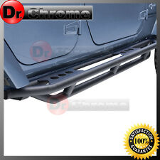 07-16 Jeep JK Wrangler Black Textured Armor Rocker Sliders Tube Running Board