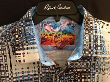 Robert Graham CAPE SIM Men's Sport Shirt Blue XLarge XL NWT NEW $228