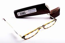 Reading Eye Glasses Cheaters Magnivision Tortoise Shell +1.50 # 521 With Case