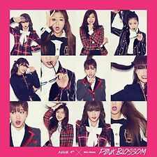 K-pop A Pink-Pink Blossom CD + 60P Photo Booklet + Photocard (APINK04MN)