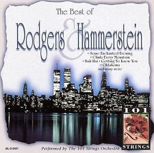 101 Strings Orchestra, Best Of Rodgers & Hammerstein, Excellent X