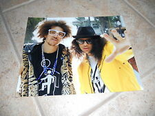 LMFAO RedFoo Sexy Signed Autographed 8x10  Photo PSA Guaranteed #3
