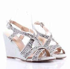 Sexy Blink Ankle Strap Slingbacks Dress Heel Sandals Womens Casual Shoes