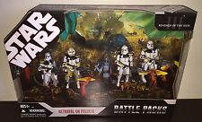 STAR WARS BATTLE PACKS BETRAYAL ON FELUCIA w/ AAYLA SECURA & CLONE COMMANDER BLY