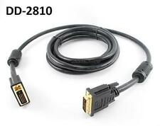 10ft. DVI-D 28AWG Dual-Link Male to Male Video Cable w/ Ferrites - DD-2810