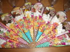 35 x Pre filled Kids Children's Sweet party cone Bags Free Postage