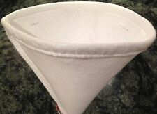 MAPLE SYRUP FILTER CONE - SYNTHETIC ORLON - 1 QUART - FOOD SAFE FILTERS