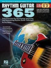 Rhythm Guitar 365 : Daily Exercises for Developing, Improving and Maintaining...