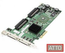 ATTO ExpressPCI UL5D SCSI Host Adaptor Ultra 320 2 Channel Card PC & Mac PCIe
