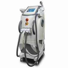 3 in 1 Skin Care Tattoo Hair Removal Nd Yag Laser Elight IPL RF Machine