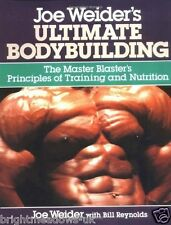 Ultimate Bodybuilding Joe Weiders Gym Muscle Fitness Shredded Book Health Weight