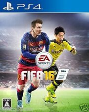 Used PS4 FIFA 16  SONY PLAYSTATION 4  JAPANESE JAPONAIS IMPORT