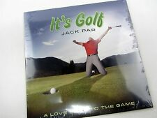 New CD - JACK PAR It's Golf - A Love Song To The Game JOHN CHAFFEE - 2012 Single
