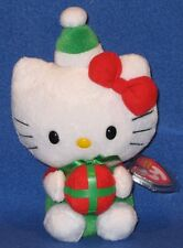 TY HELLO KITTY CHRISTMAS / HOLIDAY PRESENT - MINT with MINT TAG