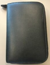 """Day Timer Planner Portable Size Black Home Office Organizer Planner 5"""" X 7.5"""""""