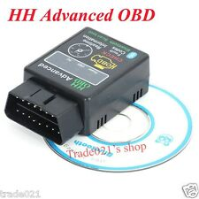 HH Advanced ELM327 OBD Torque Android Bluetooth OBD2 OBDII CAN BUS Check Engine