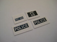 Dinky 256 - Humber Hawk Police Car Stickers - B2G1F