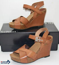 Dr.Scholl Wedges Atiris Neu Größe 37 Brown calf lth.#1345,1402,1416