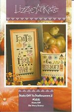 Hats Off To Halloween 2 #166  Counted Cross Stitch Pattern Lizzie Kate