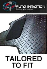 LAND ROVER DEFENDER 90 & 110 1990-06 TAILORED RUBBER Car Floor Mats HEAVY DUTY