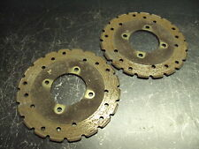 05 2005 POLARIS 330 TRAIL BOSS FOUR WHEELER BRAKE DISC PLATES DISCS BRAKING STOP